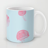 Jellyfish Mug by 83oranges.com