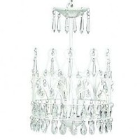 White Crown Chandelier