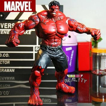 """Red Hulk Action Figure The Avengers Hulk PVC Figure Collectible Model Toy  10"""" 26cm"""