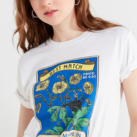 UO Sunflower Matchbox Tee | Urban Outfitters