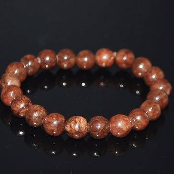 Coffee Brown Jade Bracelets