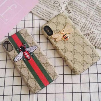 Gucci 2017 Hot ! Trending Print iPhone X iPhone 8 iPhone 8 plus - Stylish Cute On Sale Hot Deal Apple Matte Couple Phone Case For iphone 6 6s 6plus 6s plus iPhone 7 iPhone 7 plus