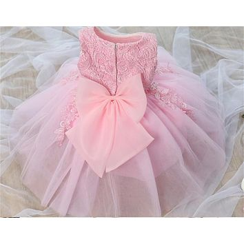 Toddler Girl First Birthday Dress Baby Girls Party Dresses For K 0cefc7aa1