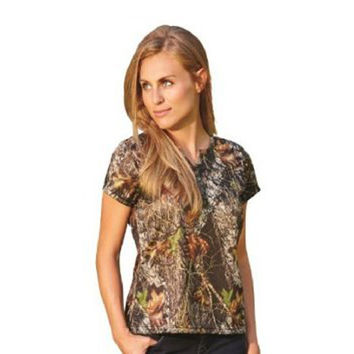 Wilderness Dreams Mossy Oak Henley Lounge Shirt