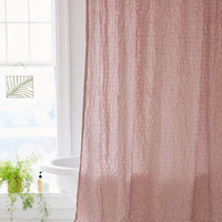 Popcorn Voile Shower Curtain | Urban Outfitters