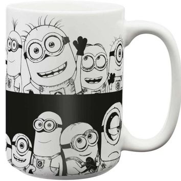 Despicable Me Minions Large Ceramic Mug