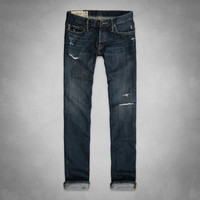 A&F Classic Straight Jeans