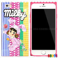 Japan Peko Milky Strawberry Candy Pink Phone Case Cover For iPhone 7 7 PLUS 6 6S