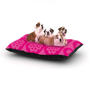 "Nicole Ketchum ""Moroccan Hot Pink"" Dog Bed"