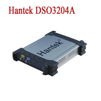 Hantek DSO3204A Digital Oscilloscope USB PC Based Automotive Osciloscopio Portable 200MHz 4CH Logic Analyzer +Signal Generator