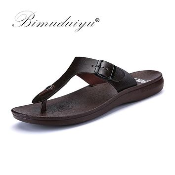 New Arrival Classic Summer Men Flip Flops Male Slippers Comfortable Breathable Beach Shoes