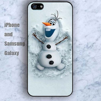 Classic cartoon frozen iPhone 5/5S Ipod touch Silicone Rubber Case, Phone cover