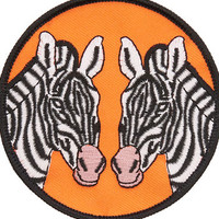 ZEBRA PATCH