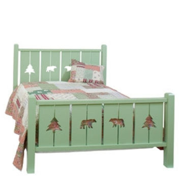 Cottage Cutout Bed