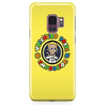 Valentino Rossi The Doctor 46 Motogp Samsung Galaxy S9 Plus Case | Casescraft