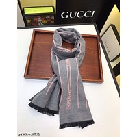 GUCCI autumn and winter new classic print pattern shawl big square scarf