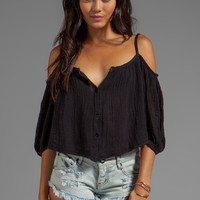 Jen's Pirate Booty Roadhouse Blues Top in Black from REVOLVEclothing.com