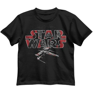 Star Wars X-Wing Fighter Tee - Toddler Boy, Size: