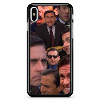 Michael Scott Collage 2 iPhone X Case