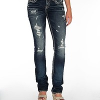 Silver Aiko Baby Boot Stretch Jean