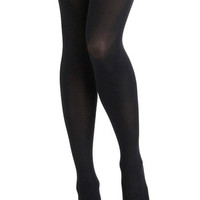 Tights for Every Occasion in Dark Grey | Mod Retro Vintage Tights | ModCloth.com