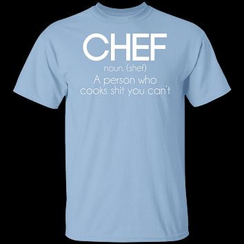 Definition of a Chef T-Shirt