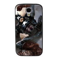 Captain America Soldier TPU Soft Shell Jelly Silicone Case for Samsung Galaxy S4