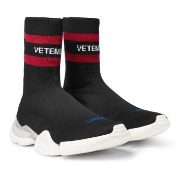 Stretch Reebok Pump Sneakers by Vetements
