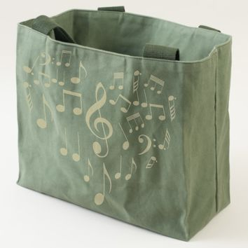 Singing Heart one-of-a-kind funny romantic Tote