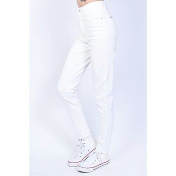 Deadstock White Highwaist Denim