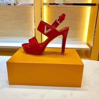 LV Women Casual Shoes Boots fashionable casual leather Women Heels Sandal Shoes created created