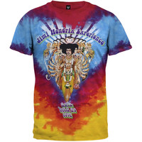 Jimi Hendrix - Bold As Love Tie Dye T-Shirt