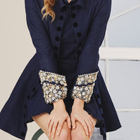 Embellished Denim Coat Dress | Moda Operandi