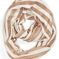 BP. Stripe Lace Infinity Scarf (Juniors)
