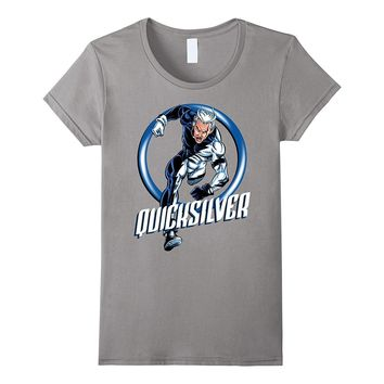Marvel X-Men Quicksilver The Dart Ring Dash Graphic T-Shirt