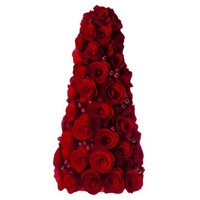 """Smith & Hawken™ Curled Wood Tree with Berries Red - 15"""""""