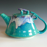 Ceramic Teapot by ocpottery on Etsy