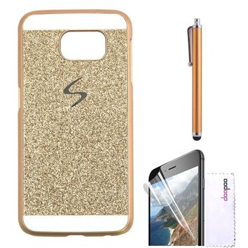 reputable site 19585 1a955 Samsung Galaxy S6 Case,Doopoo TM Luxury Bling Diamond with Crystal  Rhinestone Vibrant Trendy Color Slider Style Hard pc Case for Samsung  Galaxy S6 ...