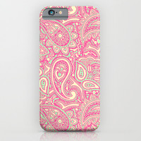 PAISLEY PATTERN 1 - for iphone iPhone & iPod Case by Simone Morana Cyla