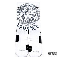 Versace Custom Nike Elite Socks ALL SIZES!