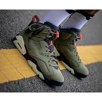 Travis Scott x Air Jordan 6 3M Shoes Size 40-47
