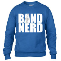 Band Nerd Crewneck sweatshirt