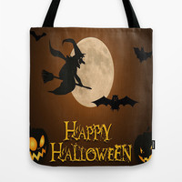 HAPPY HALLOWEEN Tote Bag by Acus