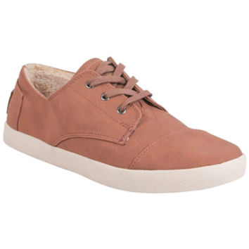 TOMS Paseo Synthetic Leather Chestnut Chestnut Sneaker
