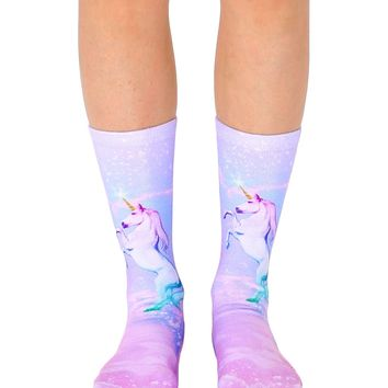 Unicorn Dreams Crew Socks