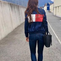 tommy hilfiger Embroidered jacket
