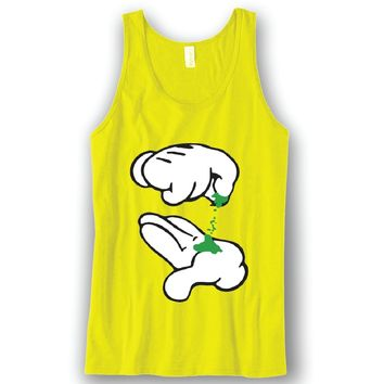 Mickey Weed Unisex Tank Top Funny and Music