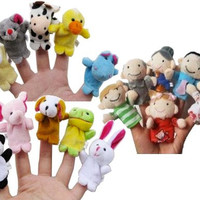 Plush Finger Puppets (set of 10)