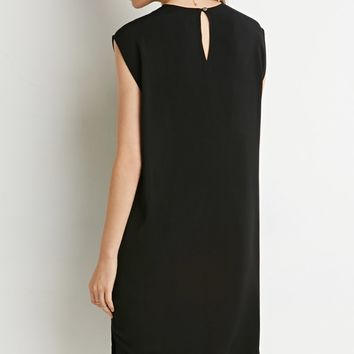 Side Slit Shift Dress