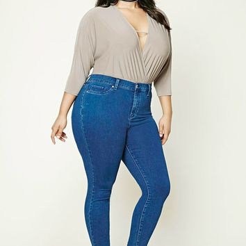 Plus Size High-Rise Jeans